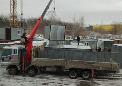 Доставка и установка бытовок, вагончиков в Казани и Республике