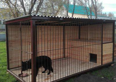 Бытовка будка, вагончик вольер (конура) для сторожевой собаки